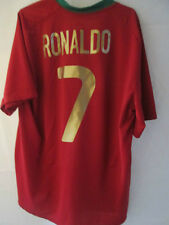 Portugal 2008-2010 Ronaldo 7 Home Football Shirt Size Adult Extra Large /34795