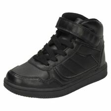 Chaussures noires à lacets pour garçon de 2 à 16 ans pointure 34
