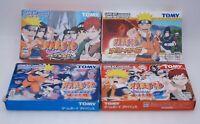 GBA Naruto Konoha Senki RPG Saikyo Ninja Daikesshu 1 2 4Games Set Japan import