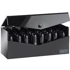Beautify 24 Premium Lipstick Holder Box: Acrylic Beauty Storage Organizer Case -