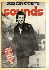 "F32 FRAMED SOUNDS NEWSPAPER COVER PAGE 15X11"" MICK JONES CLASH 18/11/1978"