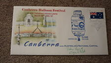 OLD HOT AIR BALLOON FLIGHT COVER, 1991 CANBERRA BALLOON FESTIVAL ELGAS BALLOON 1