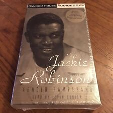 Jackie Robinson: By Arnold Rampersad (Audio Book, OOP) 4 Cassette Tapes NEW