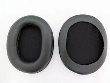 Espuma piel sintética orejeras cojín para Sony MDR 7506 mdr V6 mdr CD900ST