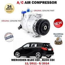 FOR MERCEDES B180 B200 CDI 2011-9/2014 ORIGINAL AC AIR CONDITION COMPRESSOR