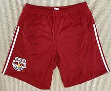 Adidas clima365 Mens Red New York Red Bull's Soccer Shorts Size X-Large