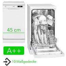 A++ Geschirrspüler 45 cm Unterbau Stand Spülmaschine Unterbaufähig Freistehend