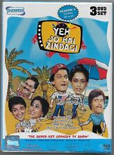 1980's Yeh Jo Hai Zindagi Season 3 Episodes 49-67 3 DVD Set! English Subtitles!