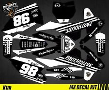 Kit Déco Moto pour / Mx Decal Kit for Ktm SX / SX-F - Fasthouse