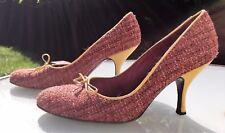 L.K. Bennett Court Shoes - Tweed / Wool / Woven - Eu 38 / UK 5 - Stunning