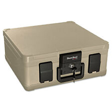 Fireking Fire and Waterproof Chest 0.27 ft3 15-9/10w x 12-2/5d x 6-1/2h Taupe