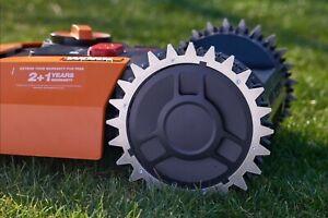 Robot Lawnmower Aluminium wheel spike Worx M+S