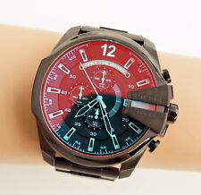Original DIESEL Herrenuhr  DZ4318 Mega Chief Farbe:Anthrazit/Multicolor NEU!