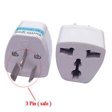 UK EU Universal to AU Australia 3 pin Plug AC Power Adapter Travel Converter New