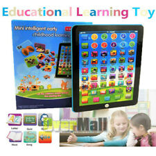 2020 New Educational Toys Gift for Toddlers Baby Kids Boy Girl Learning Tablet
