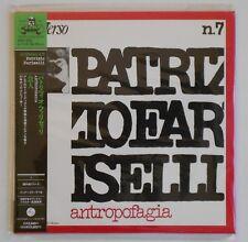 PATRIZIO FARISELLI ANTROPOFAGIA JAPAN MINI LP CD STRANGE DAYS POCE-1199 AREA