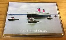 SS UNITED STATES Photo Fridge Magnet Cruise Ship Ocean Liner a