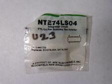 NTE NTE74LS04 Hex Inverter ! NEW !