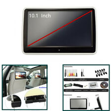 "10.1"" Tft Tactile Appuie-Tête Voiture Monitor Dvd Player game HDMI/USB/SD/IR/FM"