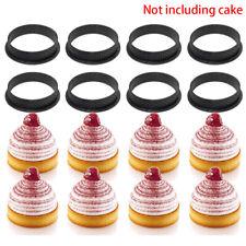 DIY Mousse Circle Tart Round Shape Bakeware Silicone Cake Mold Decorating Tools