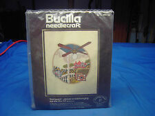 BUCILLA FRONT PORCH-Picture or Wall Hanging needlecraft Kit No. 48732