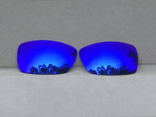 Purple Mirrored Replacement Lenses for-Oakley Spike Sunglasses Polarized