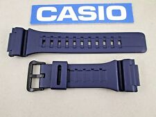 Genuine Casio AQ-S810W AEQ-110W W-735H navy blue resin rubber watch band strap