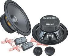 GROUND ZERO GZIC 16X 2-Wege Lautsprecher System Car HiFi Compo Set 165mm | NEU