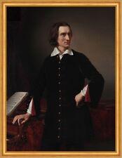 Portrait of Ferenc Liszt 1811 bis 1886 Miklos Barabas K&K Komponist B A2 02899