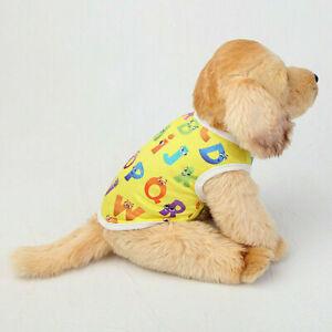 Pet Dog Cat Puppy Clothes Vest Dress For Small Dogs T Shirt Apparel Coat Jacket