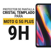 Sentete® Motorola Moto G 5G Plus Protector de Pantalla Cristal Templado PREMIUM