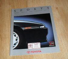 Toyota Sports Brochure 1990 - MR2 GT Celica GT4 Supra 3.0 Turbo Corolla GTI-16