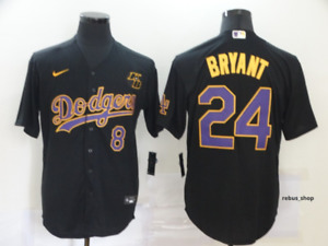 New 2020 Kobe Bryant  Los Angles Dodgers Jerseys nba lakers topps dodgers s-3xl