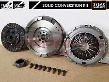 FOR TOYOTA COROLLA 2.0 D4D DUAL MASS TO SOLID FLYWHEEL CLUTCH CONVERSION KIT