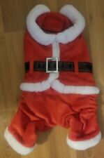 New listing Medium Pet Santa Outfit