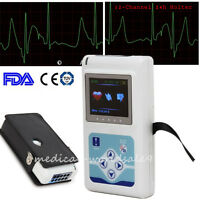 CON-TEC 24h 12-channel ECG/EKG Holter System/Recorder Monitor Analyzer Software