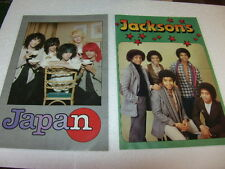 Monty gum Pop Posters 1978 Japan michael Jackson s five Racey Duncan Browne
