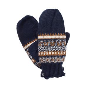 NWT ISOTONER Women's Knit Mittens with Lurex - Blue -1 Siz - $34