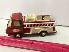 Tonka Fire Truck Minicar Tinplate American Vintage Rare 2 Ladders Included