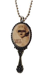 Se7en Deadly Vanity Kills Gothic Punk Horror Vintage Mirror Necklace Pendant