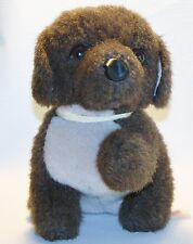 Vintage Plush Toy Puppy Dog PBC Pacific Balloon Co Lovey 9""