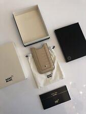 Montblanc *Boheme* iPhone, Samsung Leder Hülle SmartPhone Holder NP:200€ -1501