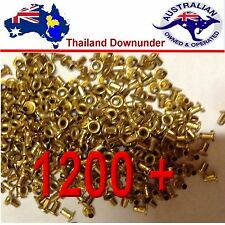 1200 + BEEKEEPING BRASS FRAME EYELETS 100gram  FOR WOODEN FRAMES   BEE KEEPING