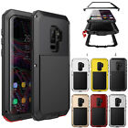 Shockproof Rubber Aluminum Metal Armor Case Cover For Samsung S10/S9/S8/S7/Note9