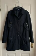 Gap Made With Wool Woman's Navy Overcoat Size 10