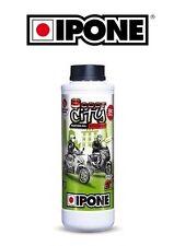 Huile 2 Temps IPONE Anti-fumée City Oil moto scooter 2T Bidon Ipone 1L Fraise