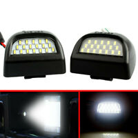LED License Plate Lights Lamp For 1999-2014 Chevy Silverado Avalanche BRIGHT SMD