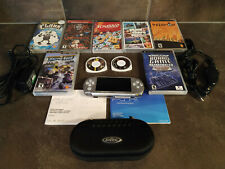 Sony PSP 3000 Silver Handheld System with accessories and games