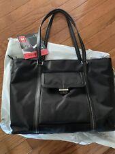 🔥 Samsonite Ultima 2 Black Nylon Twill Laptop Bag NWT - Fast Shipping