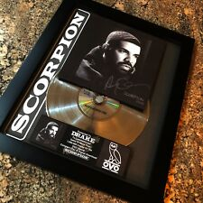 DRAKE SCORPION Million Record Record Sales Music Award Disc Album LP Vinyl